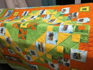 Finished Camper Theme Quilt