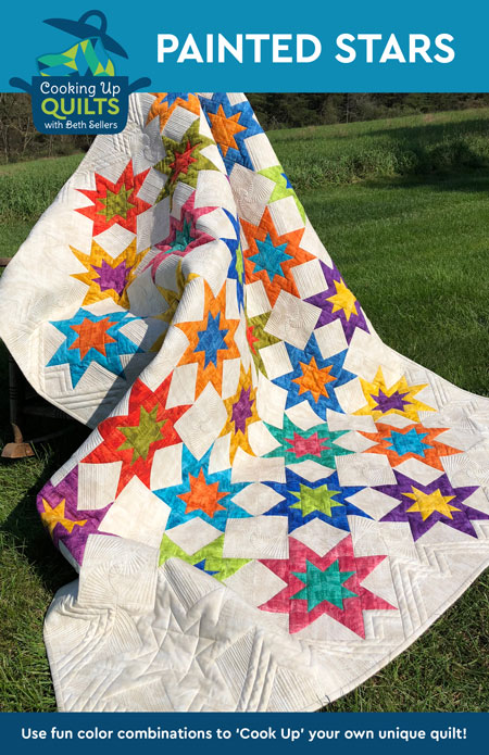 Painted Stars Quilt Pattern