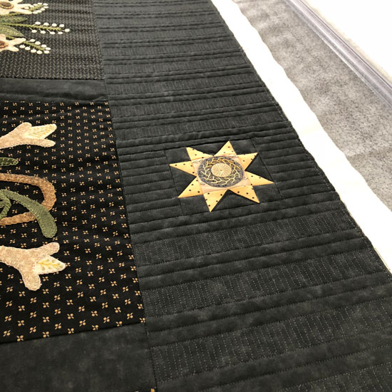 Piano Key border by Beth Sellers of Cooking Up Quilts
