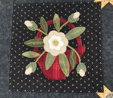 Moon Garden Quilt and Return of Main Crush Monday