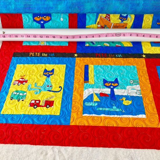 Pete the Cat Wall Hanging