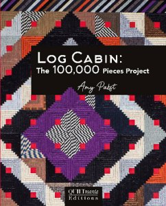 Amy Pabst Log Cabin The 100,000 Piece Project