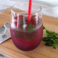 Blackberry Mint Iced Tea Lemonade