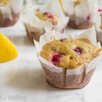 Cranberry Lemon Poppy Seed Muffins