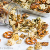 Spicy Furikake Chex Mix