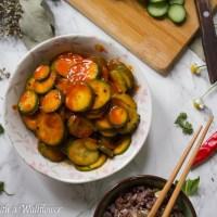 Gochujang Cucumbers