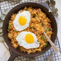 Kimchi Spam Fried Rice