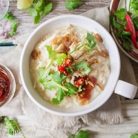 Leftover Turkey Congee