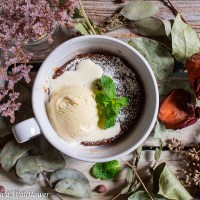 5 Minute Fudgy Chocolate Mug Cake