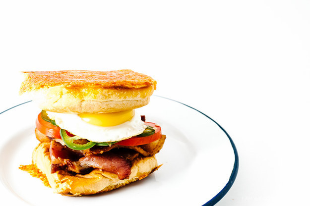 "14.) <a href=""http://iamafoodblog.com/bacon-and-egg-grilled-cheese-breakfast-sandwich-recipe/"" target=""_blank"">Bacon and Egg Grilled Cheese Breakfast Sandwich</a>"