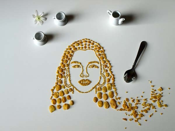 "This series is called ""Celebrity Cereal Portrait."""