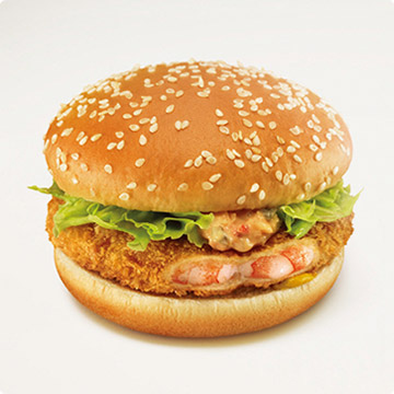 13. Ebi (shrimp) Filet O'Fish - McDonald's, Japan