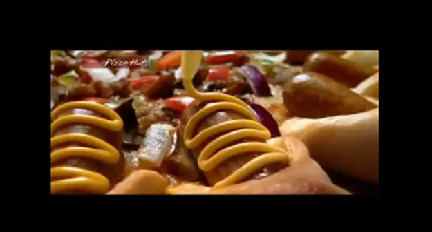 14. Star Pops Pizza with Mini-Hot Dogs and Mustard - Pizza Hut, Philippines