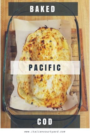Baked Pacific Cod