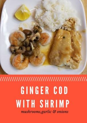 Ginger Cod