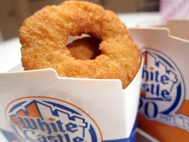 14) White Castle Chicken Rings - Onion rings are so 2013.