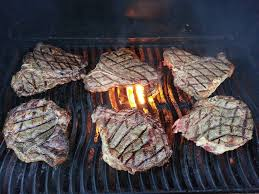Steaks on the grill, are they safe?