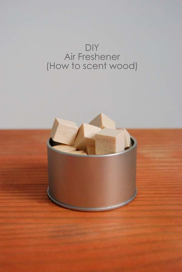 2.) Scented Wood Blocks