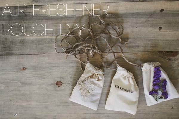 9.) Pouch Air Freshener
