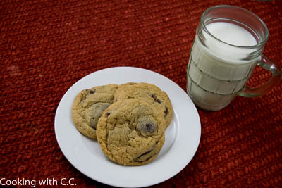 Mmmmm-Chocolate Chip Cookies And Milk