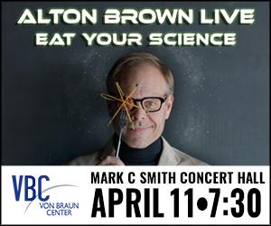 Alton Brown Coming To Huntsville April 11, 2016
