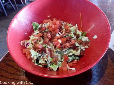 BLT Side Salad