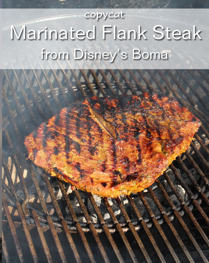 Disney Boma Marinated Flank Steak