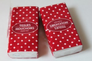 Travel Tissues