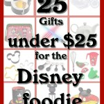 25 Gifts for the Disney Foodie under $25 dollars