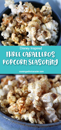 Three Caballeros Popcorn Seasoning