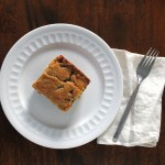 Chocolate Chip Almond Blondies – Day 4 – 30 Days of Recipes