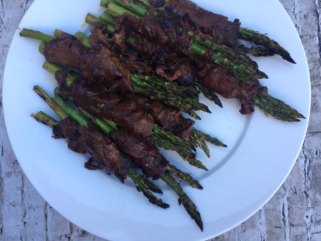 Korean BBQ Ribeye & Asparagus Roll