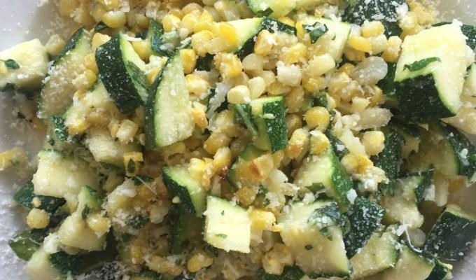 Parmesan Corn & Zucchini