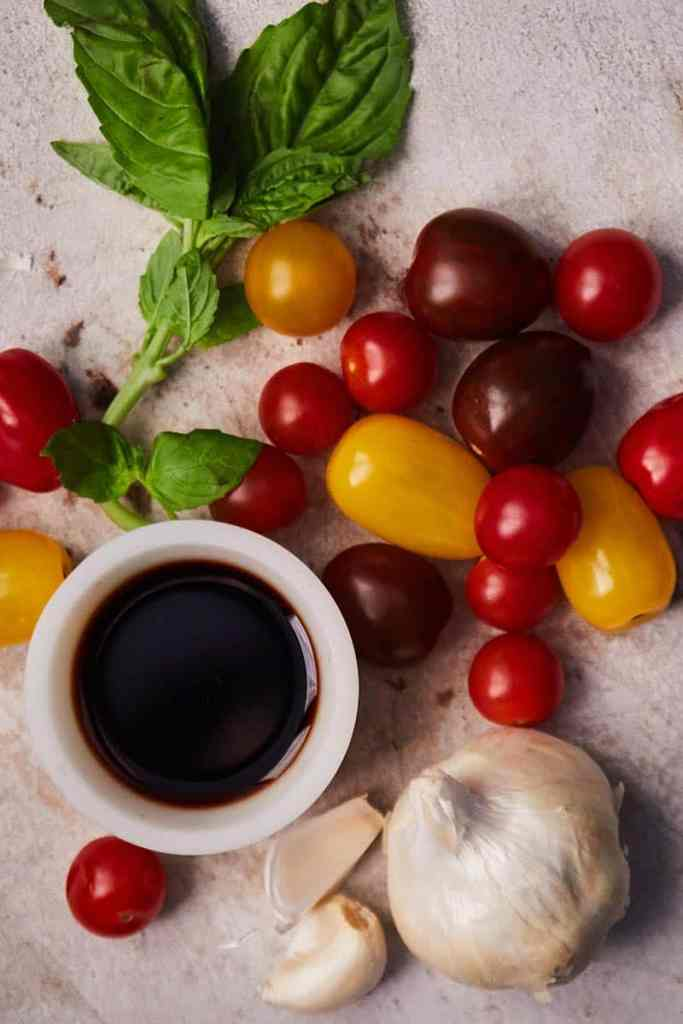 Easy Balsamic Chicken Ingredients