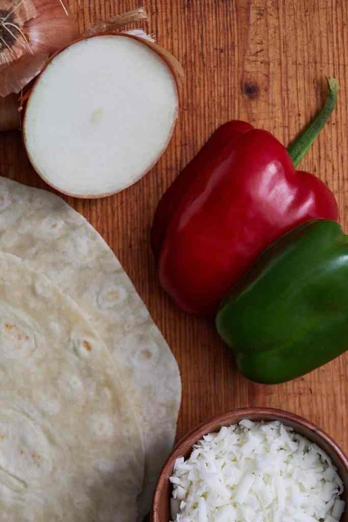 Easy Chicken Chimichangas Ingredients