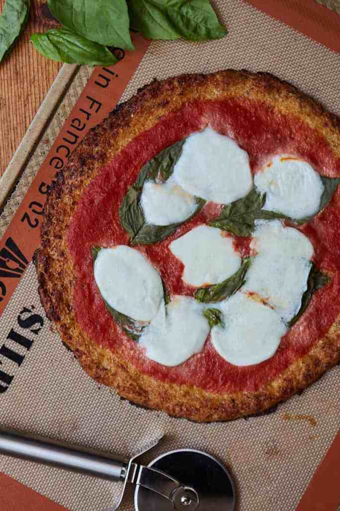 Cauliflower Crust Pizza Margherita