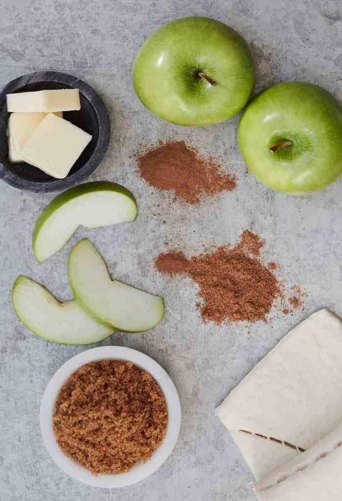 Apple Pie Minis Ingredients