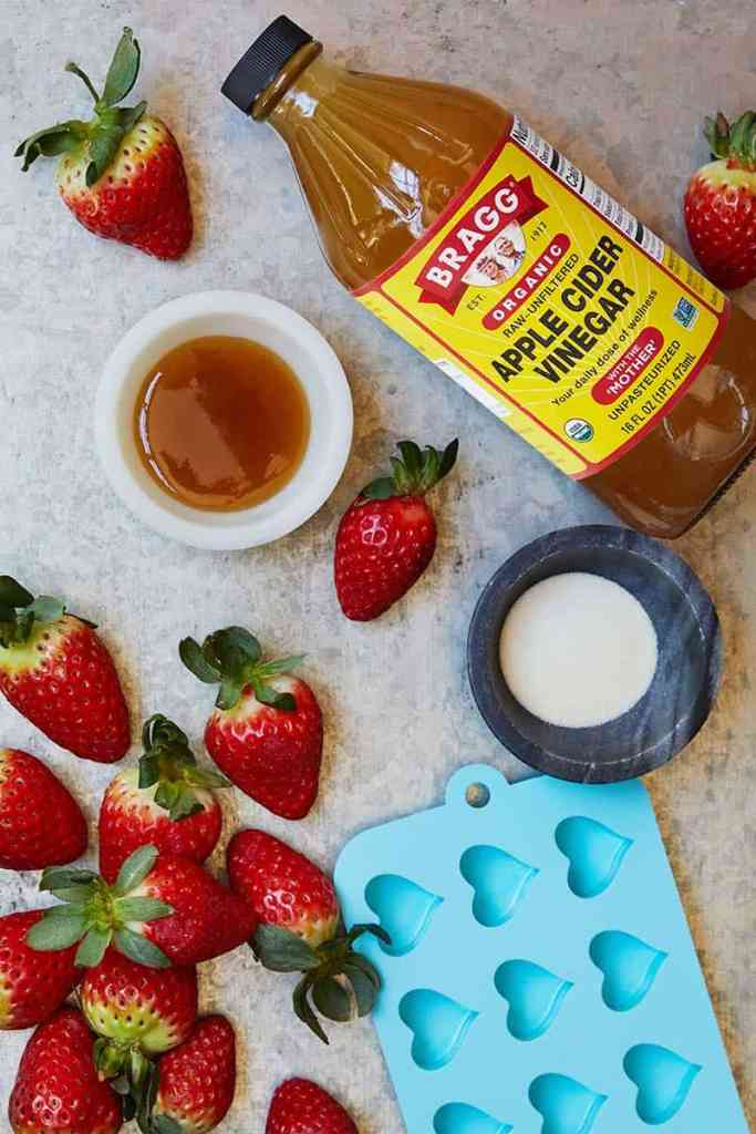 Apple Cider Vinegar Gummy Hearts Ingredients
