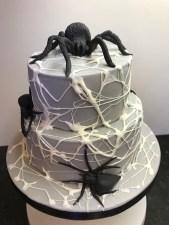 Black Widow Spider Cake