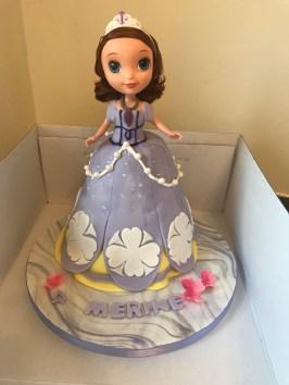 Princesse Sofia Cake