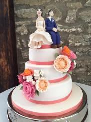 Wedding Cake - N&J