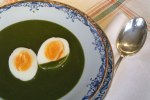 spinach soup / cream of spinach soup