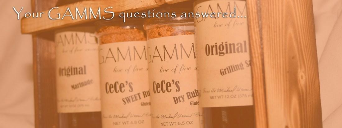 GAMMS FAQ