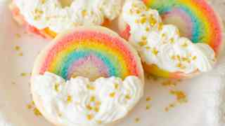 Slice 'n Bake Rainbow Sugar Cookies