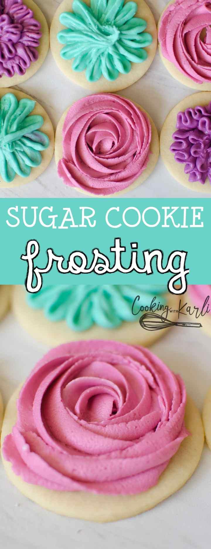 4-Ingredient Powdered Sugar Frosting ~ Simple Sweet Recipes   Cookie Icing Recipe Powdered Sugar