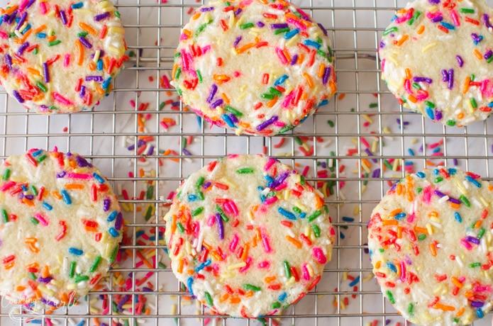Sugar Cookies with sprinkles are the best sprinkle cookies on earth.