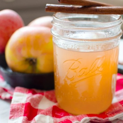 Homemade Apple Cider Recipe in the Crockpot or Instant Pot