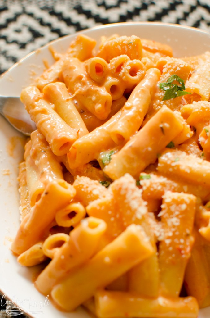 Instant Pot pasta skinny creamy ziti