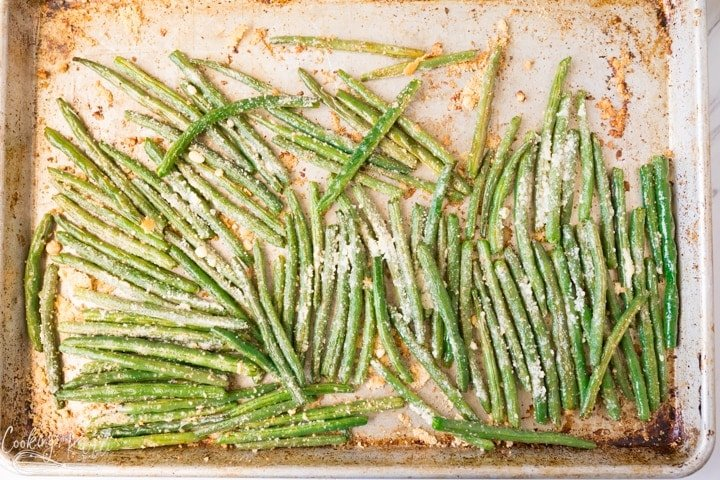 Roasted Green Beans (two ways!)
