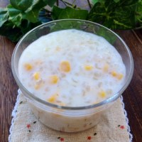 Corn and Sago in Coconut Milk